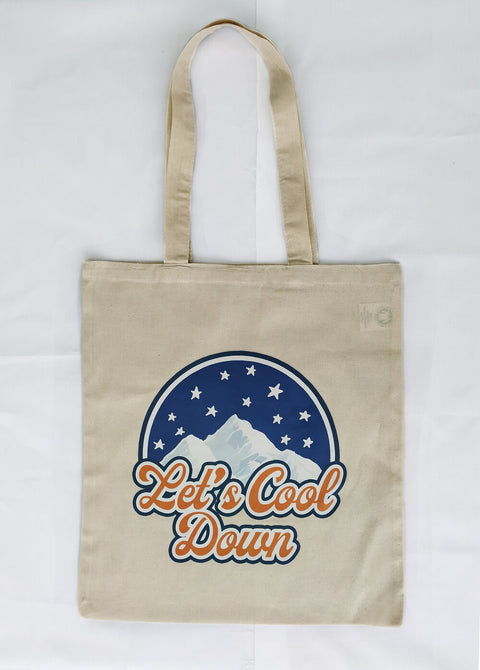 LET'S COOL DOWN TOTEBAG x SOLANGE COSTA