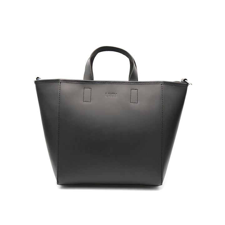 LUMI - Livia Medium Work Tote Black