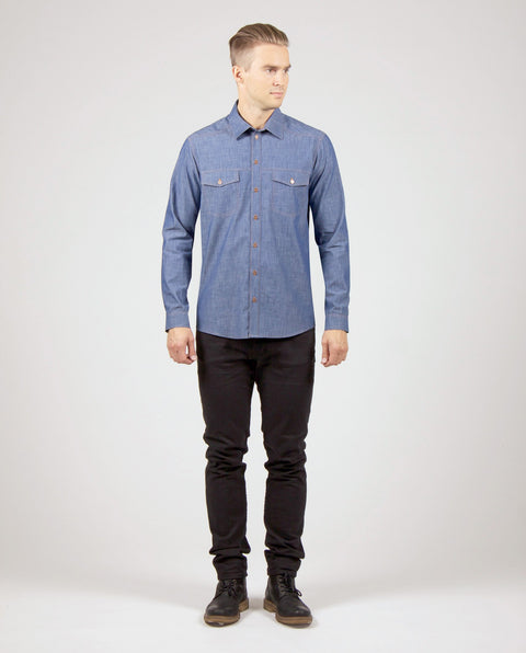 KIPARLUOTO shirt, denim