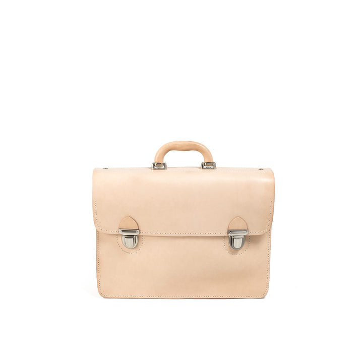 LUMI - Mika Postman Bag Natural - Outlet