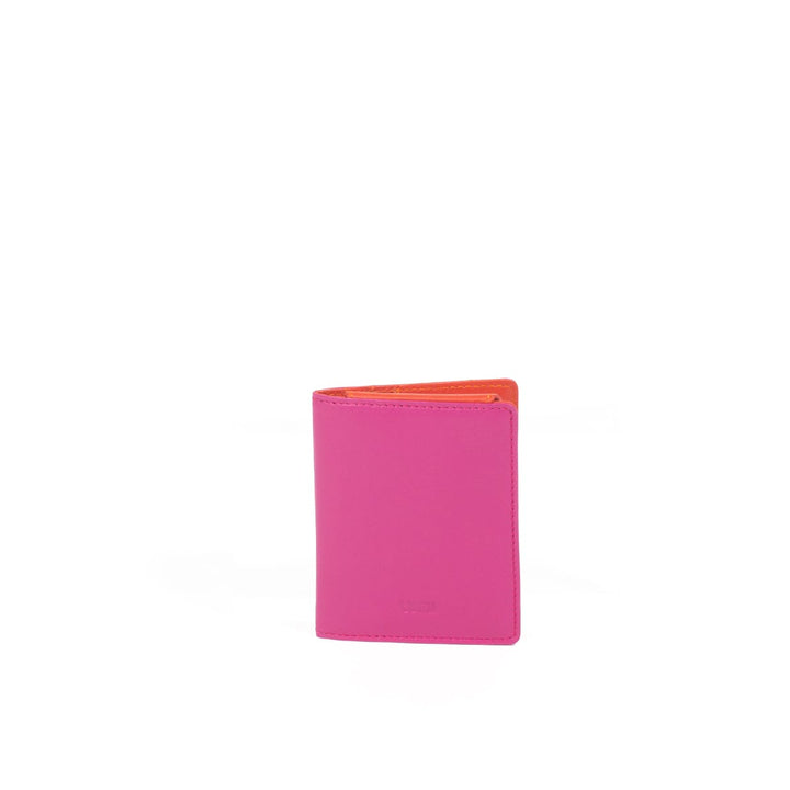 LUMI - Paula Simple Card Wallet Pink / Coral