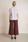RESIDUS - RAIN SASHIKO PANTS - COPPER RED, image no.3