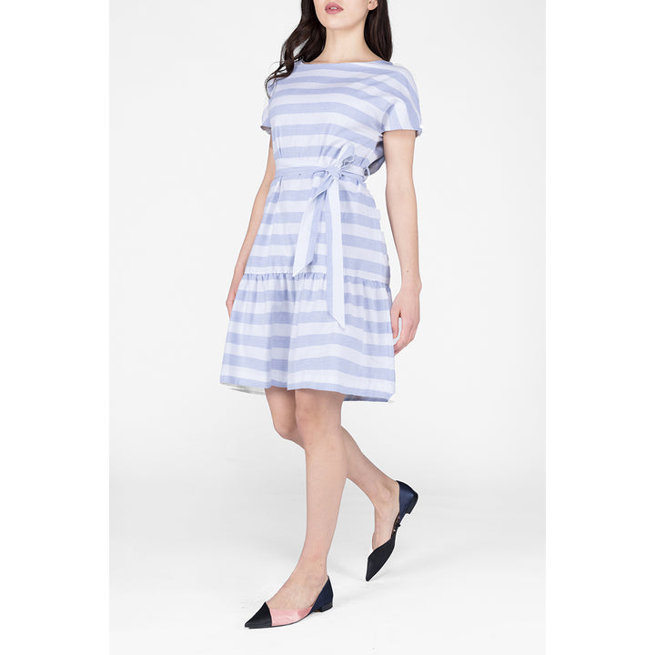 RESIDUS - Maya Oxford Dress Blue