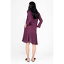 RESIDUS - Marley Dress Dark Purple, image no.3