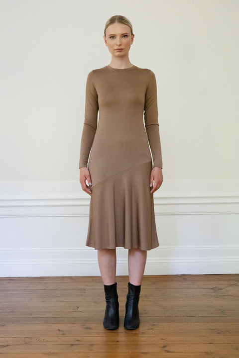 TORA TENCEL DRESS - MOLE