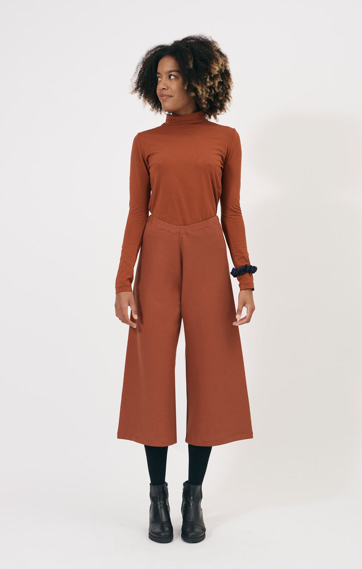SHIO - Rib Pants Rust