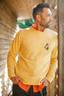 &SONS - Boxer No.4 Sweatshirt Yellow, image no.12