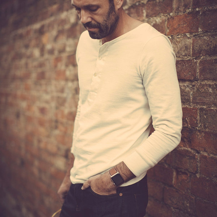 - The Original Elder Henley Shirt Raw