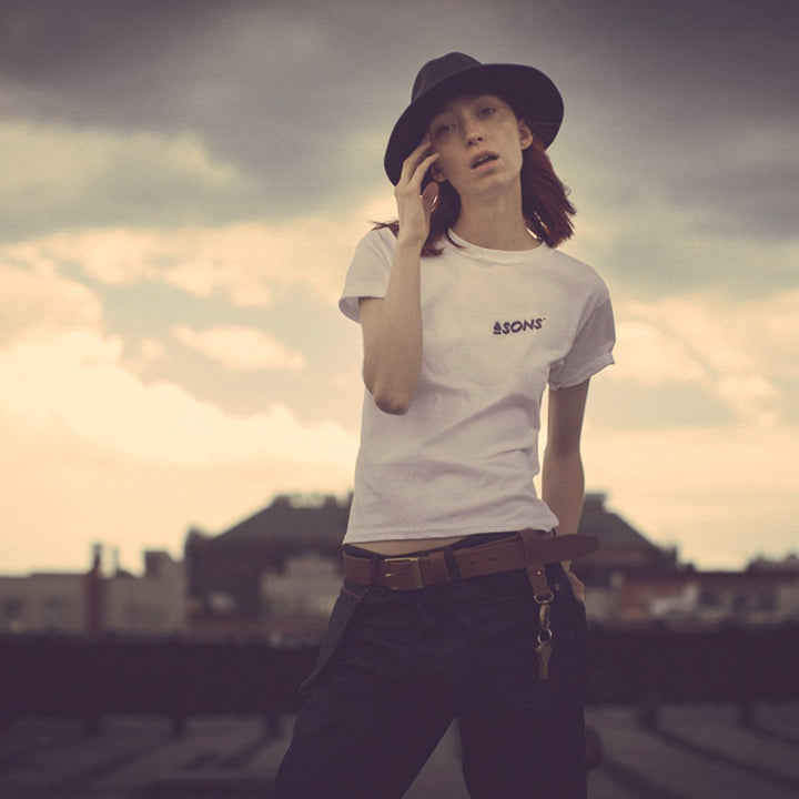 &SONS - Logo Womens T-Shirt