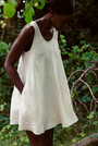 Lemuel MC - 100% Linen Summer Dress Off- White, image no.2