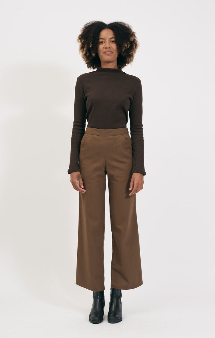SHIO - Tailored Trousers Walnut