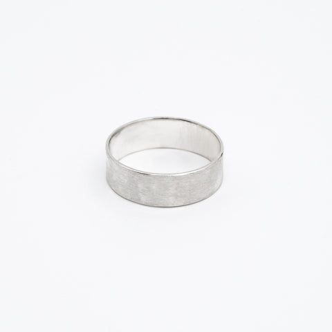 Väre Silver Ring Wide