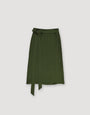 - Wrap Skirt Dark Green, image no.2