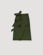 - Wrap Skirt Dark Green, image no.3
