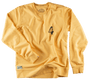 &SONS - Boxer No.4 Sweatshirt Yellow, image no.2
