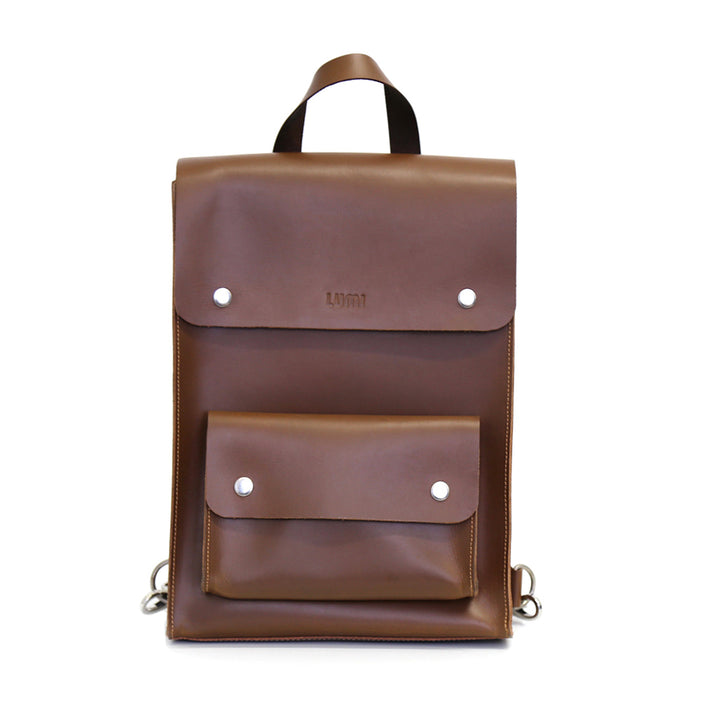 LUMI - Erika Backpack Cognac