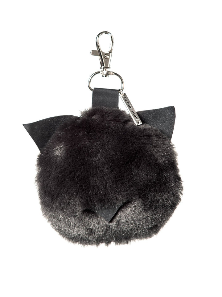 Globe Hope - Kitty Keychain Black