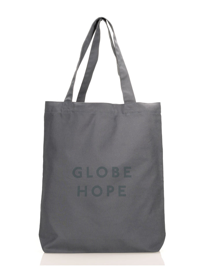 Globe Hope - Valo Maxi Fabric Bag Grey Statement