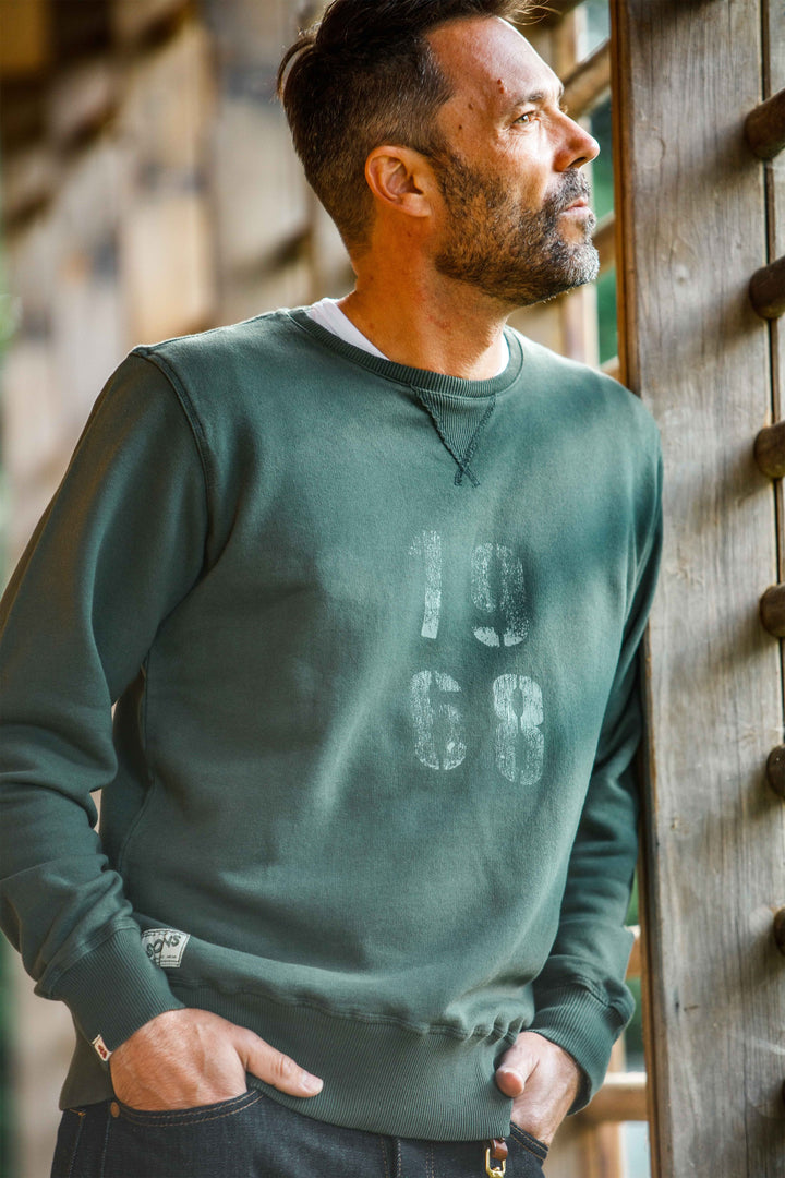 &SONS - Green Sweatshirt