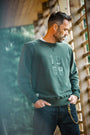 &SONS - Green Sweatshirt, image no.7