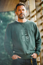 &SONS - Green Sweatshirt, image no.9