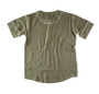 &SONS - The New Elder Henley Short Sleeve Shirt Army Green, image no.3