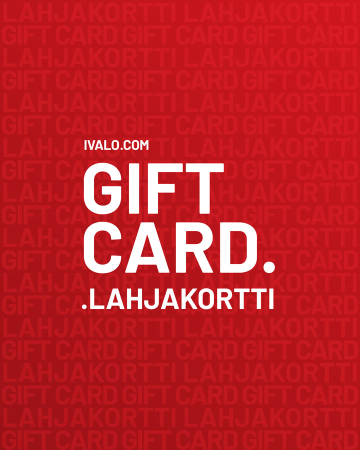 - IVALO.COM Gift Card (25€ - 200€)