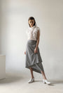- VICHY DECONSRUCTED ASYMMETRIC SKIRT, image no.3