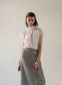 - VICHY DECONSRUCTED ASYMMETRIC SKIRT, image no.4