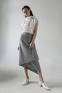 - VICHY DECONSRUCTED ASYMMETRIC SKIRT, image no.5