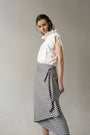 - VICHY DECONSRUCTED ASYMMETRIC SKIRT, image no.2