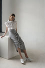 - VICHY DECONSRUCTED ASYMMETRIC SKIRT, image no.6