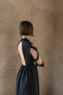 K M by L A N G E - BLACK OPEN BACK LENA DRESS, image no.5