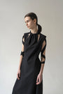 K M by L A N G E - BLACK OPEN BACK LENA DRESS, image no.7