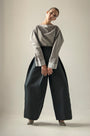 - GRAY PUFFED SLEEVES BLOUSE, image no.4