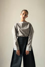 - GRAY PUFFED SLEEVES BLOUSE, image no.5