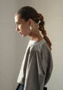 - GRAY PUFFED SLEEVES BLOUSE, image no.10