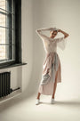- VINTAGE FABRIC HVOSTY ASYMMETRIC SKIRT, image no.5