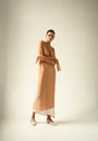 - ENDLESS SLEEVES nude tulle DRESS, image no.10