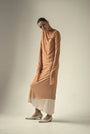 - ENDLESS SLEEVES nude tulle DRESS, image no.1
