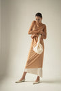 - ENDLESS SLEEVES nude tulle DRESS, image no.6
