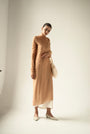 - ENDLESS SLEEVES nude tulle DRESS, image no.7