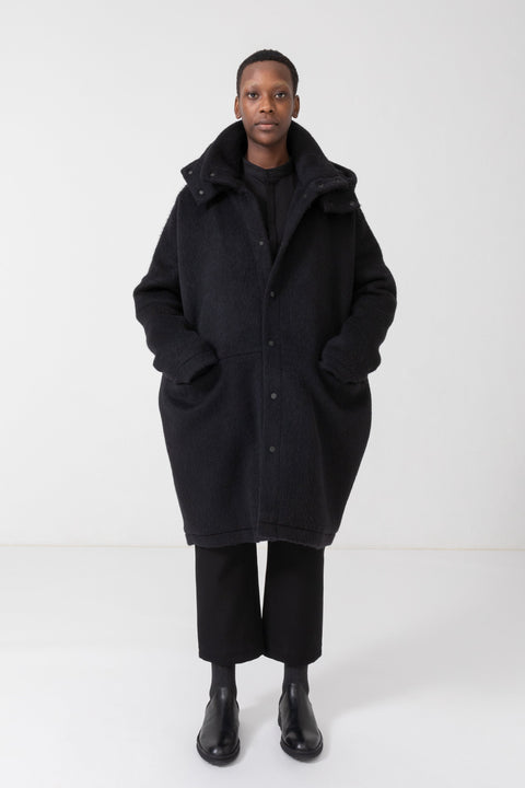 115D LOOSE WOOLLEN COAT