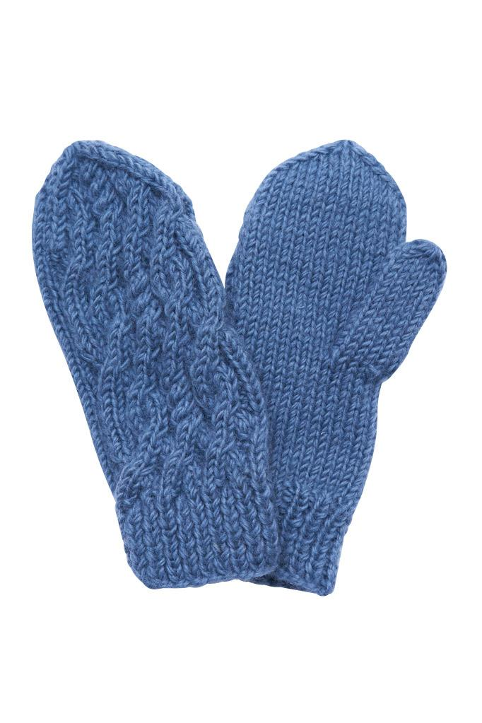 BIBICO - Nordic Knitted Wool Mittens Mint
