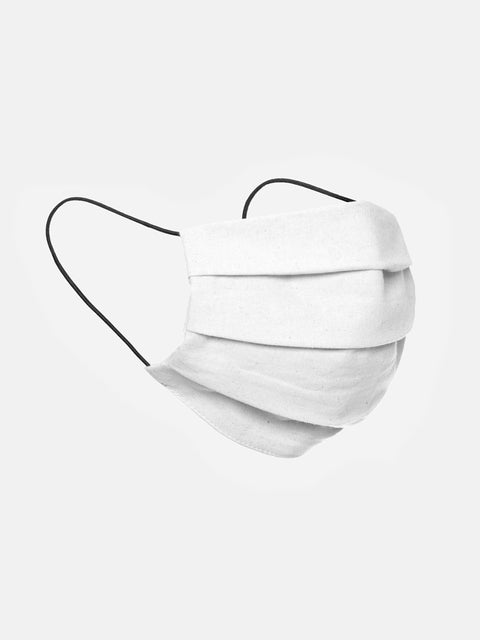 Pure Waste Fabric Mask White