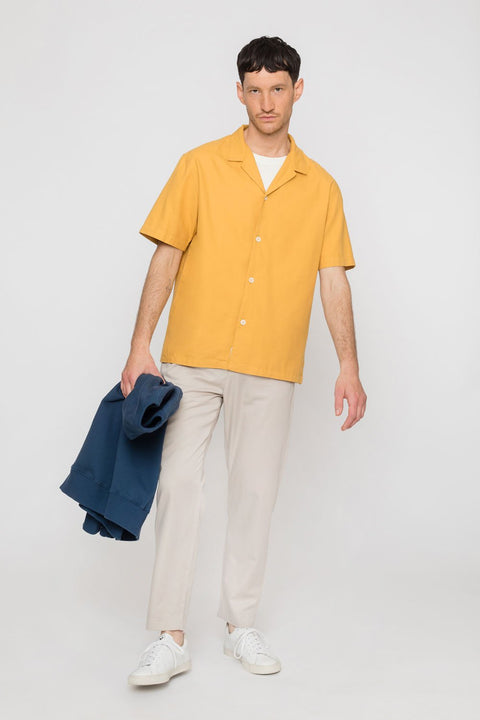 Bowling Shirt Yellow