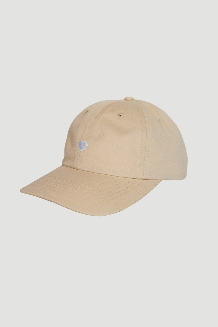 Rotholz - 'Heart' Dad Cap Creme