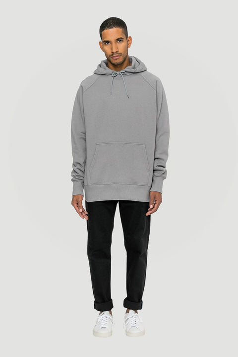 Spacing Organic Hoodie Grey