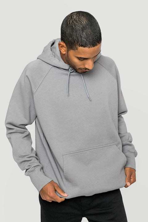 'Spacing' Organic Hoodie Grey