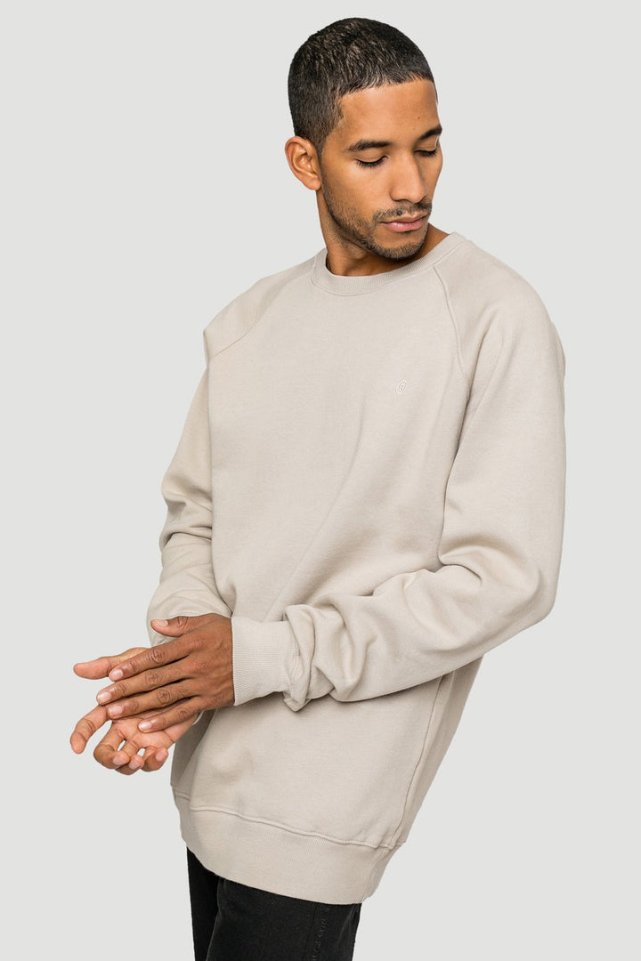 - 'Rights' Organic Sweatshirt Sand